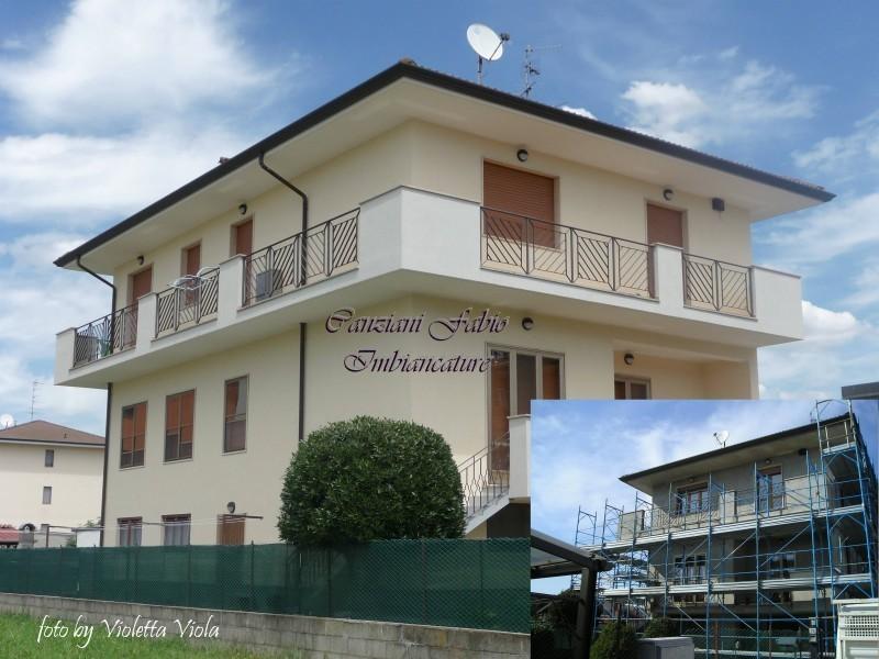 Casa moderna roma italy tinteggiare casa esterno - Pittura esterna casa ...