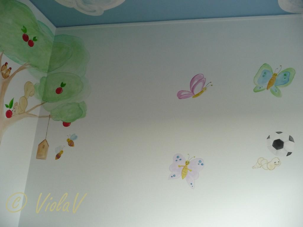 Decoro pareti cameretta bambino tutte le immagini per la for Decorazioni pareti cameretta