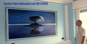 cf Notte decoro murale 3