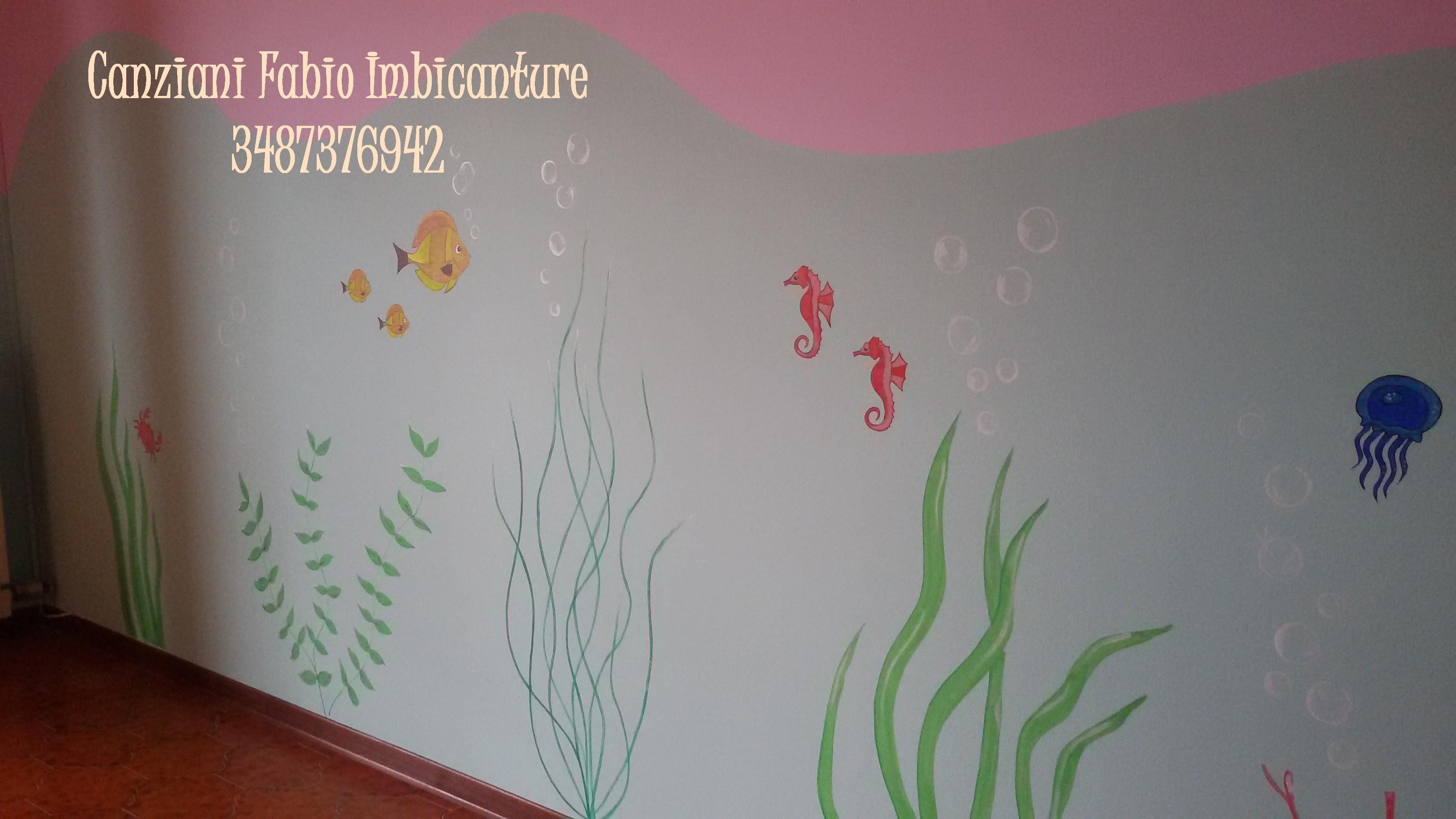 Stencils, finiture di pregio - Canziani Fabio Imbiancature