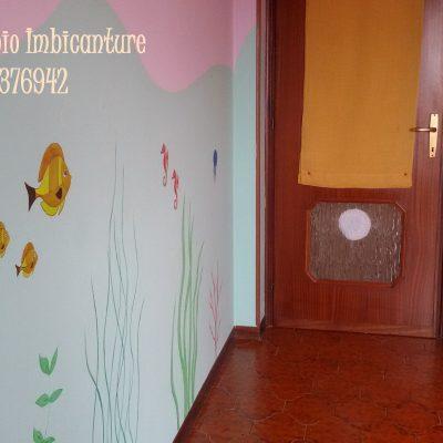 Decorazioni murali canziani fabio imbiancature novara 348 7376942 - Decorazione parete cameretta ...