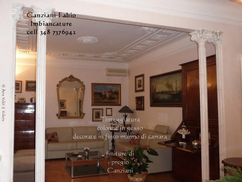 Imbiancatura chiama canziani fabio 3487376942 - Decori in gesso per interni ...