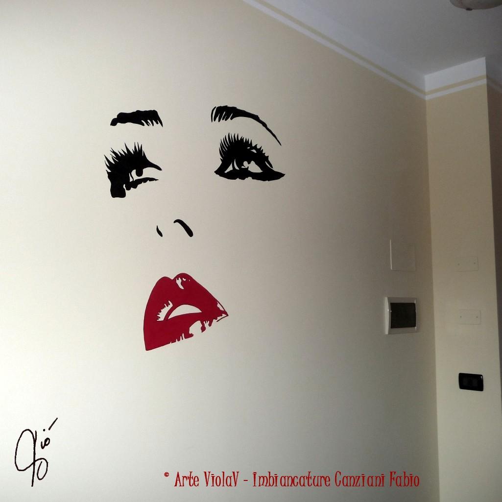 Disegni Sui Muri Di Casa decoro murale - canziani fabio 348 7376942