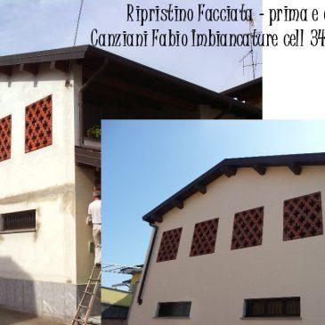 Ripristino facciata esterna – Novara