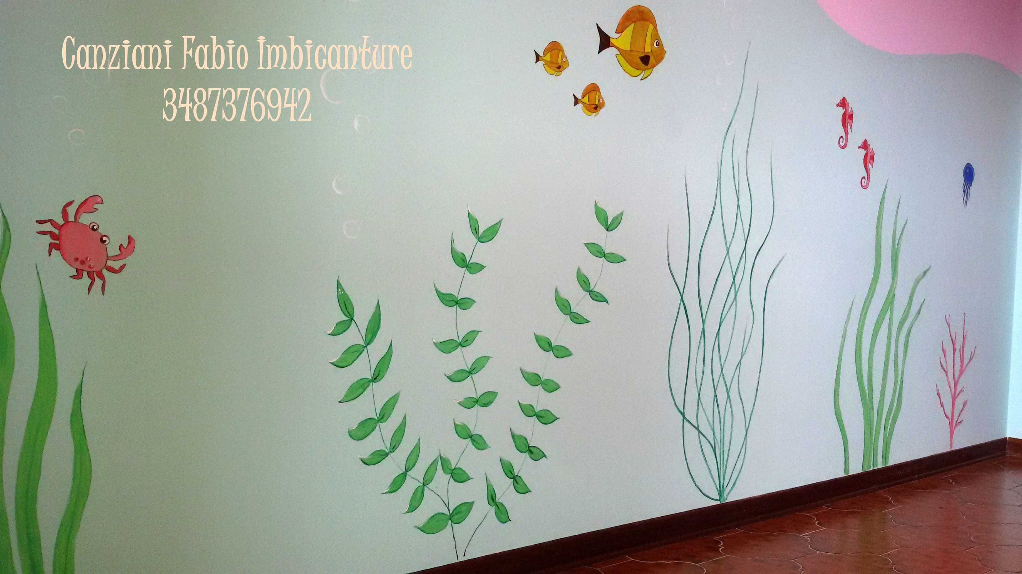 Decorazioni murali canziani fabio imbiancature novara for Decorazione be u